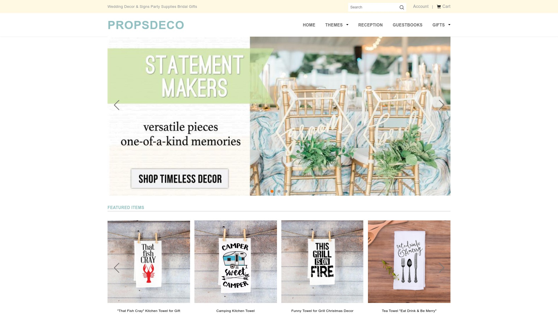 Is Propsdeco a Scam? Review of the Wedding Online Store