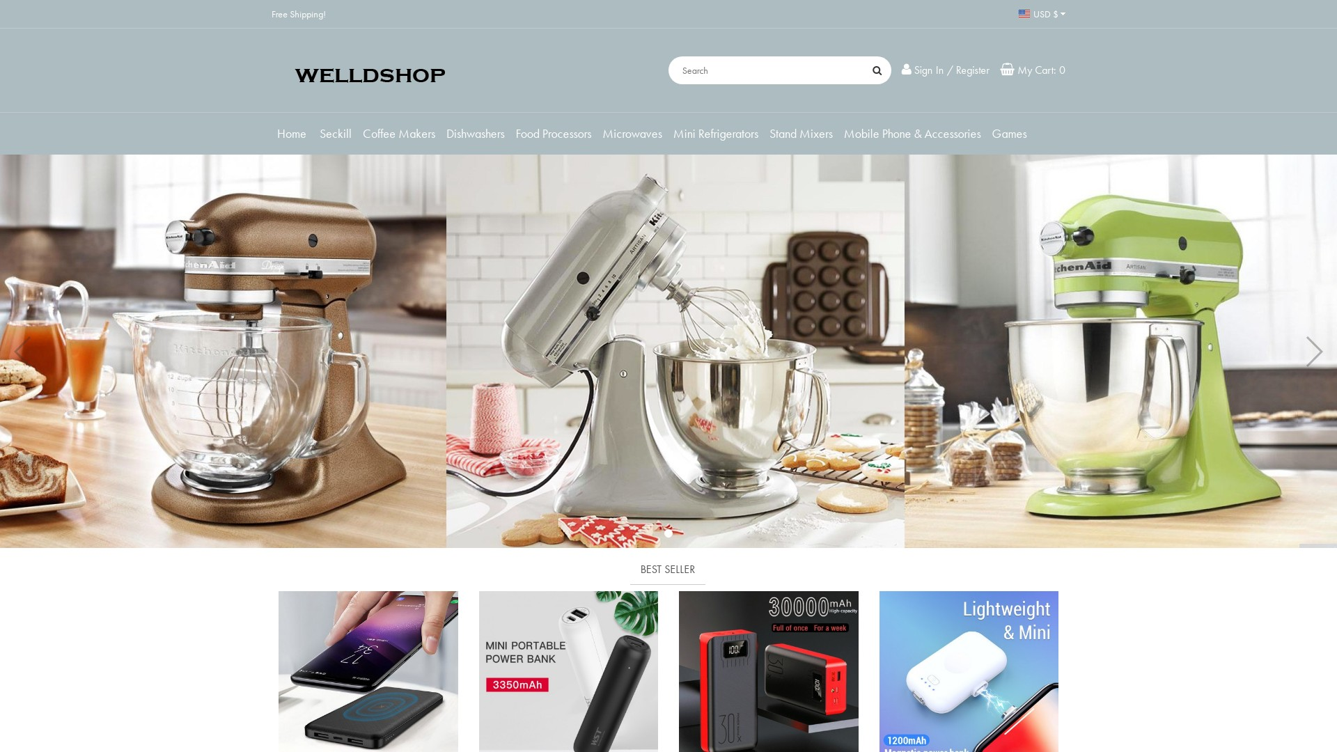 Is Sales.Welldshop.com a Scam? See the Review of the Online Store