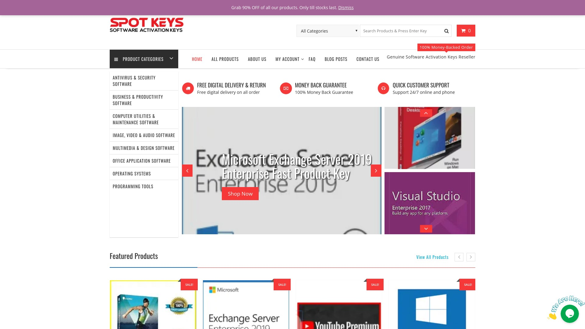 Is Spotkeys a Scam Microsoft License Key Store?