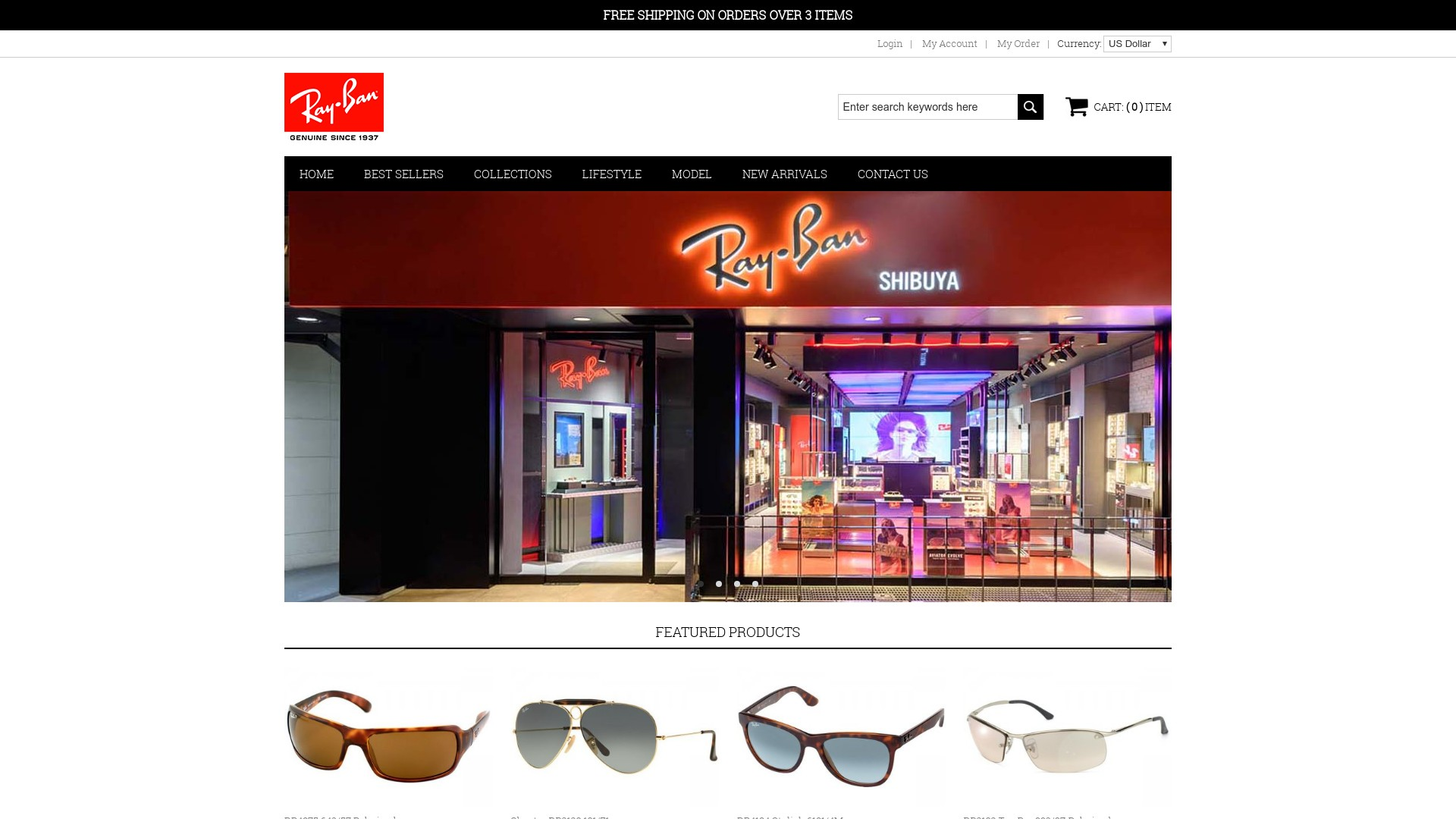 Ray Ban Instagram Scam  Fake Sunglasses Store