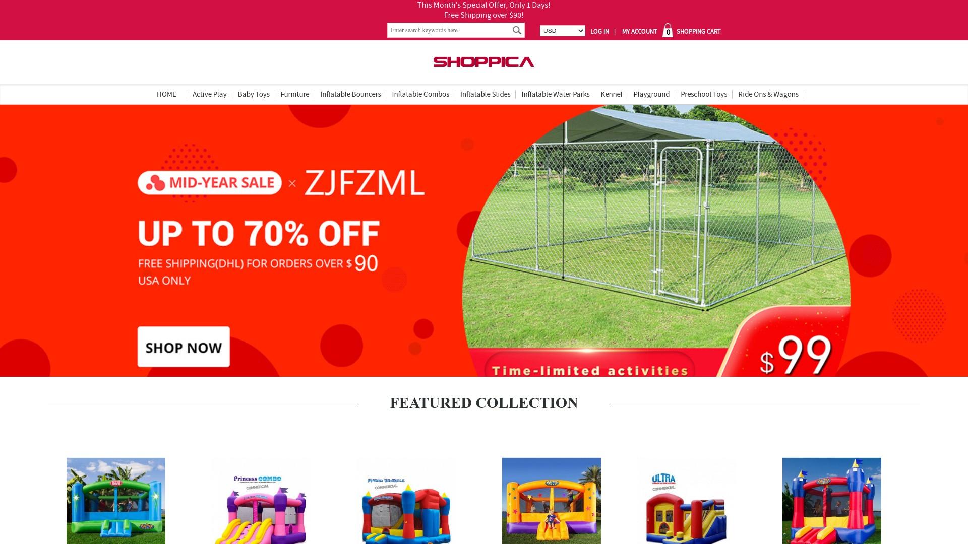 GGmediainc.com is a Scam and Fake Shoppica Online Store