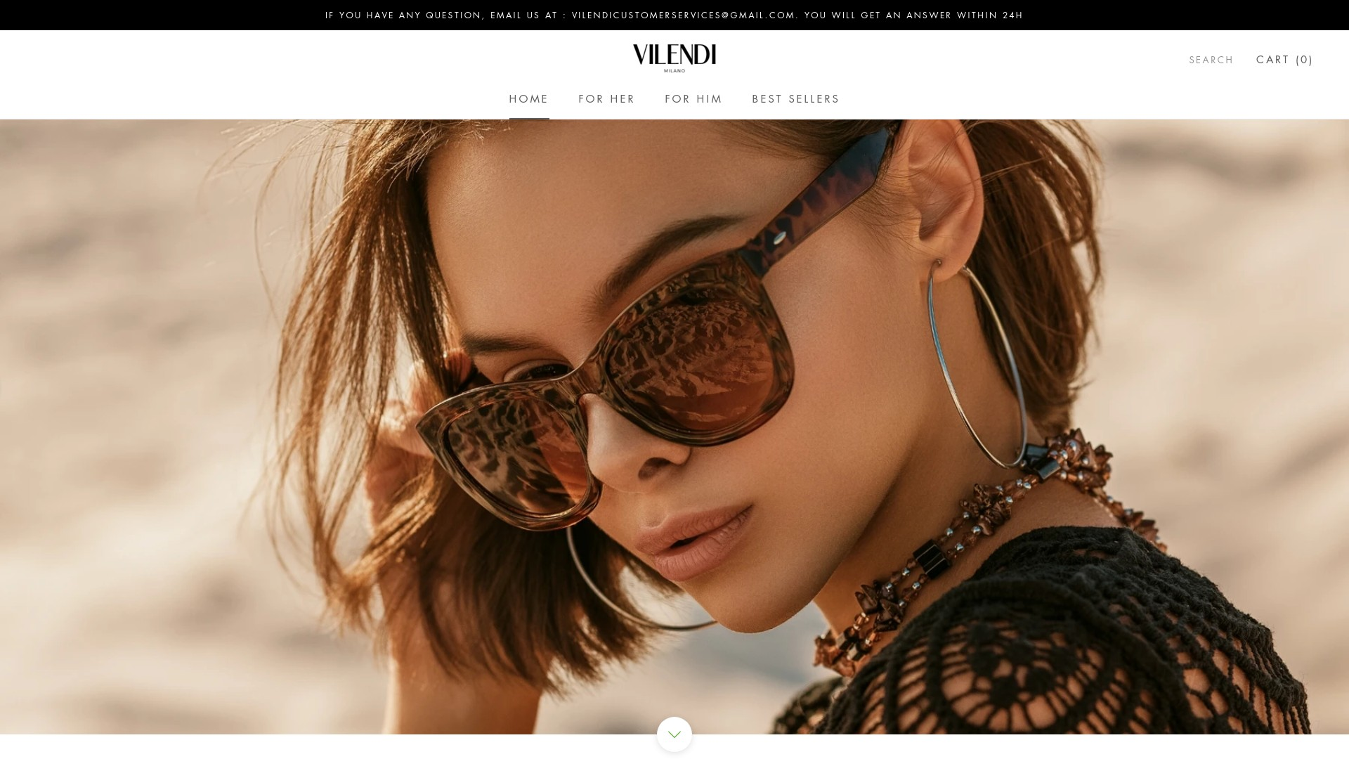 Is Vilendi a Scam? Review of the Sunglass Store
