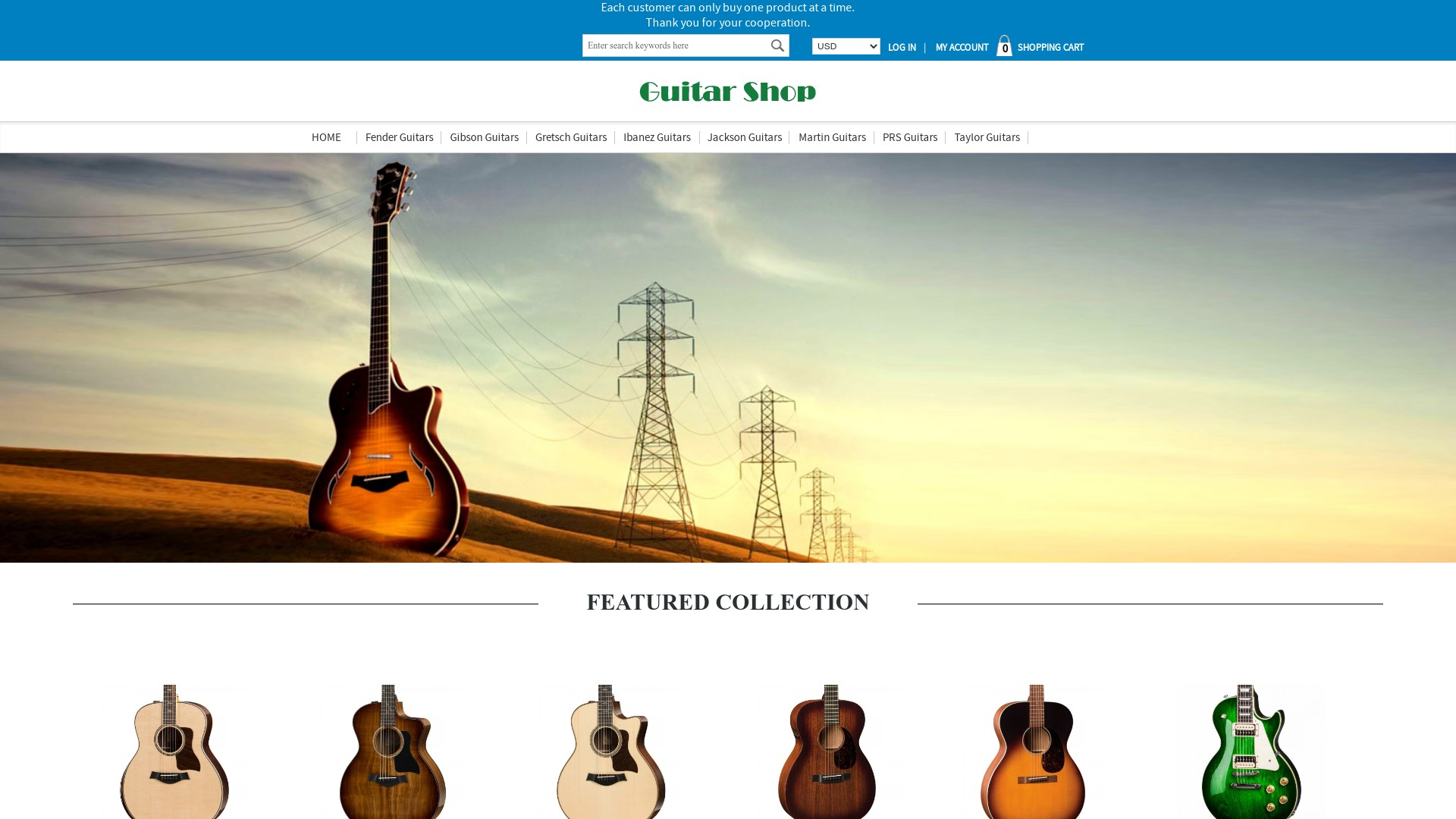 Is Wangkefalv.com a Scam? Review of the Guitar Store