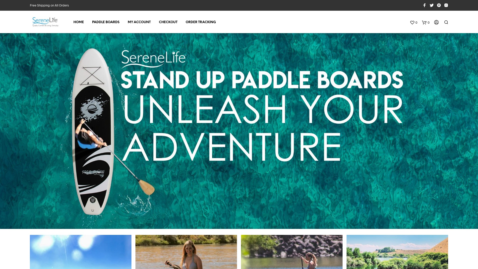 SereneLife Paddle Board Scam and Fake Online Stores