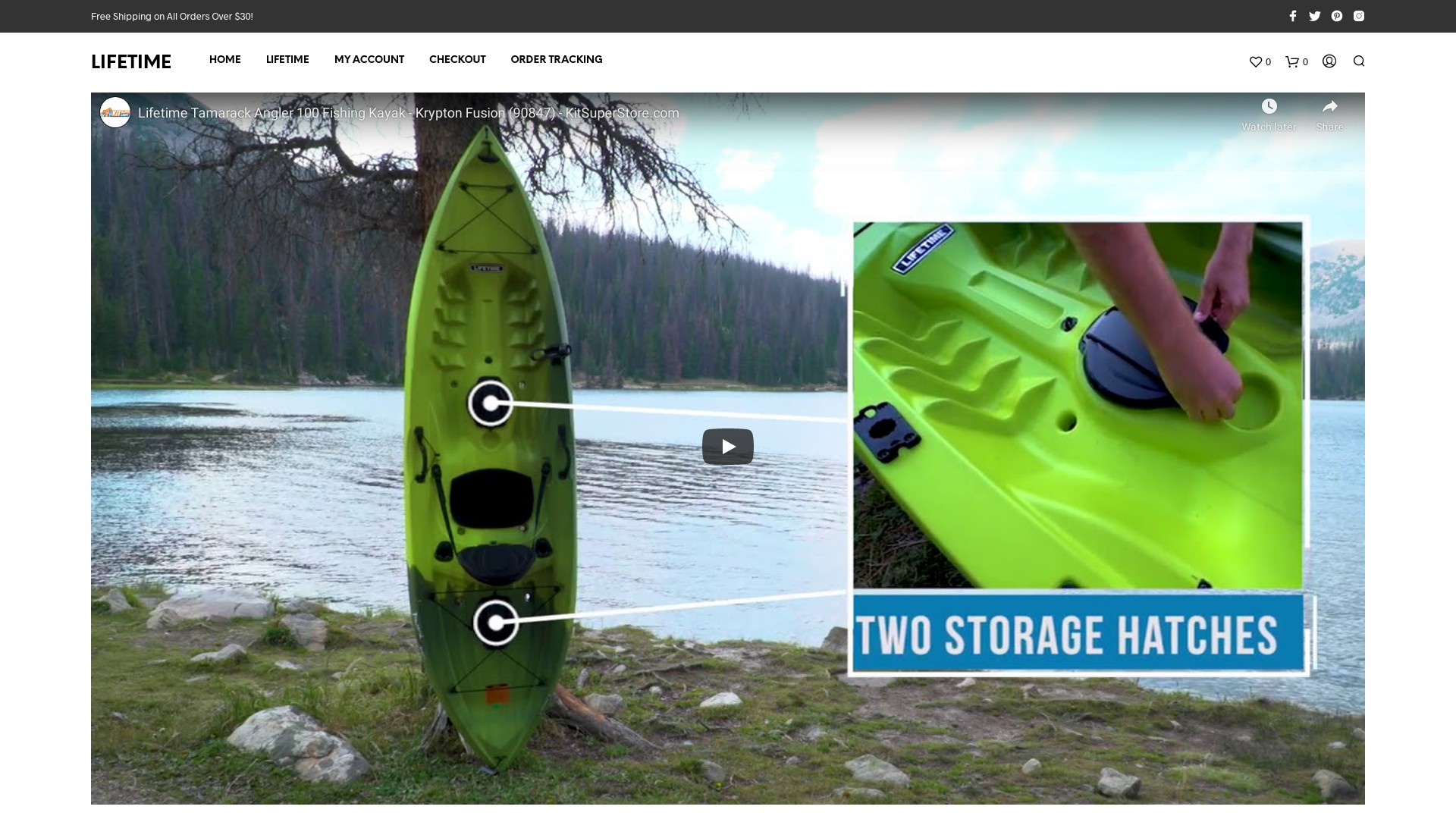Inflatable Kayak Scam  Fake Online Stores