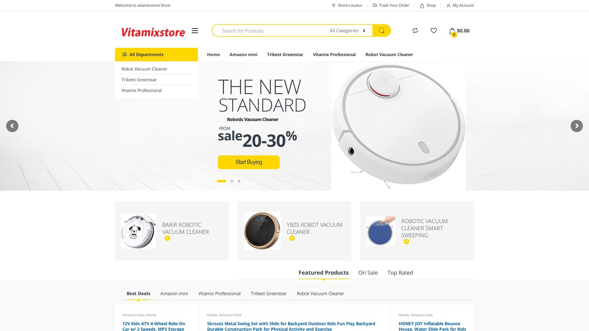 Is Vitamix Store a Scam? Review of Vitamixstore.com