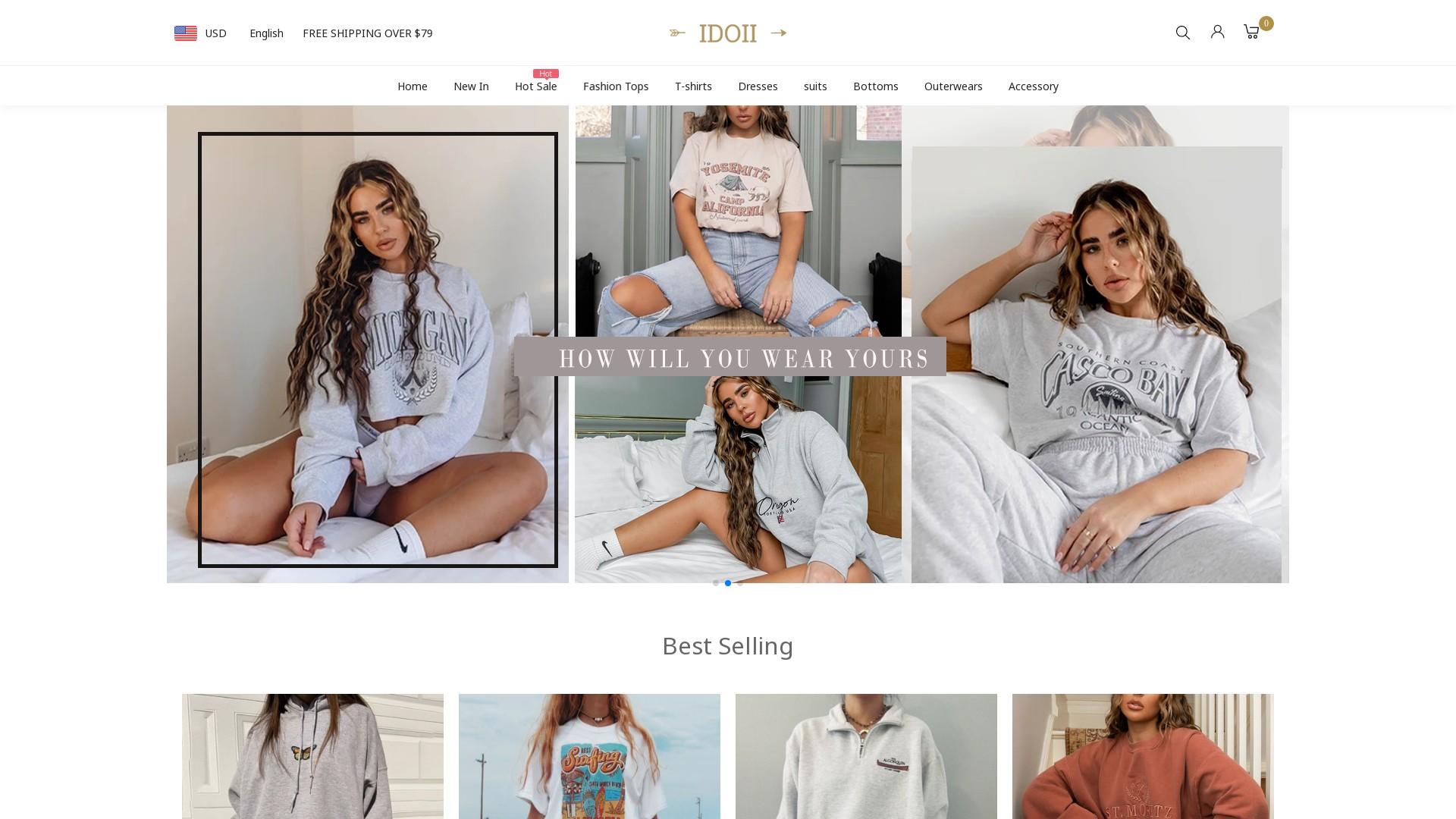 Idoii.com Reviews  a Fake Online Clothing Store