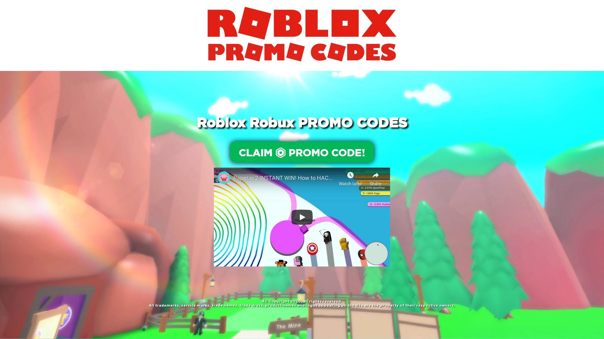 Robloxfun Xyz Scam Free Roblox Robux Promo Codes Online Review