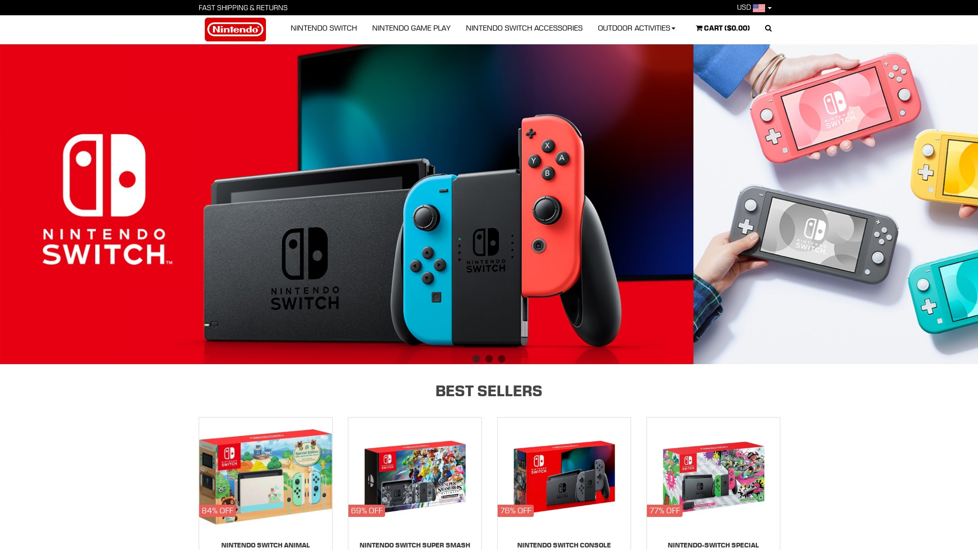Nintendo Switch Lite Scam and Fake Stores