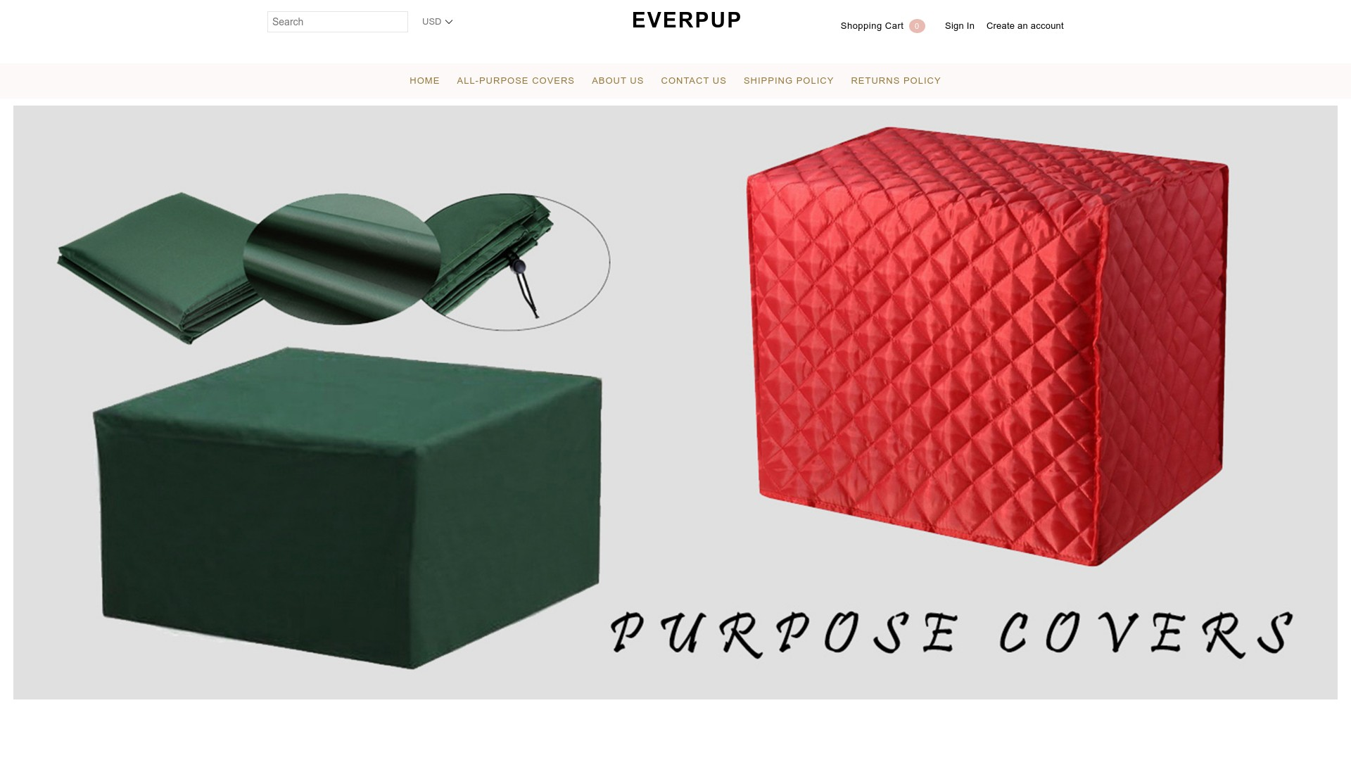 Everpup Website Reviews  is the Store a Scam?