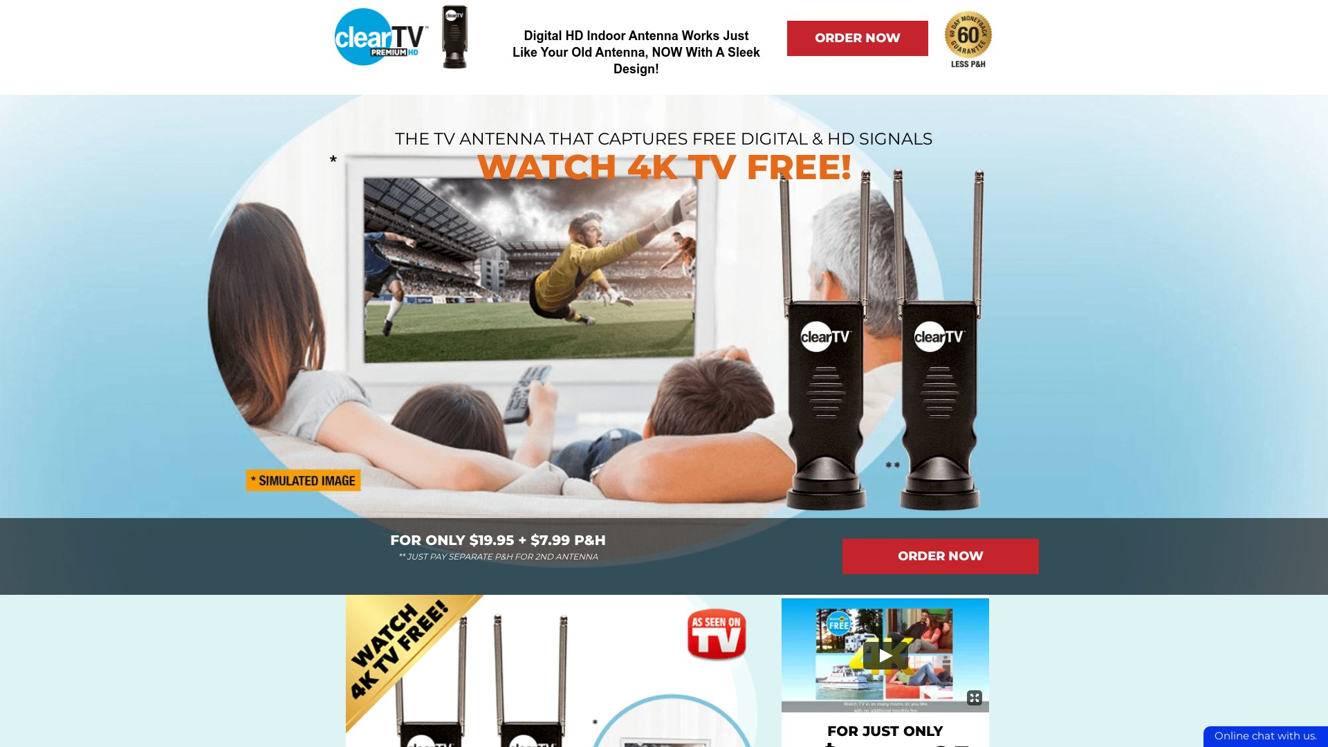 Is BuyClearTV.com a Scam? Review of the Digital HD Indoor Antenna