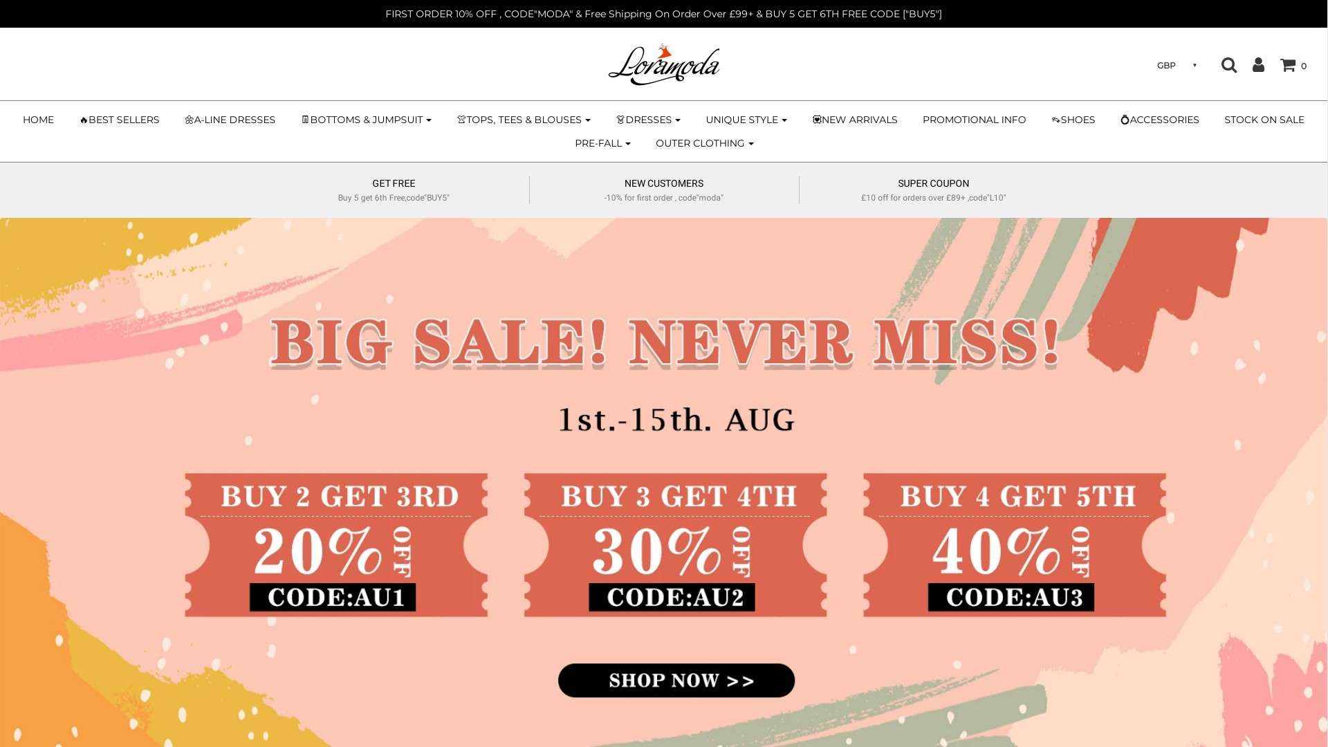 Is Loramoda a Scam? Review of the Online Store