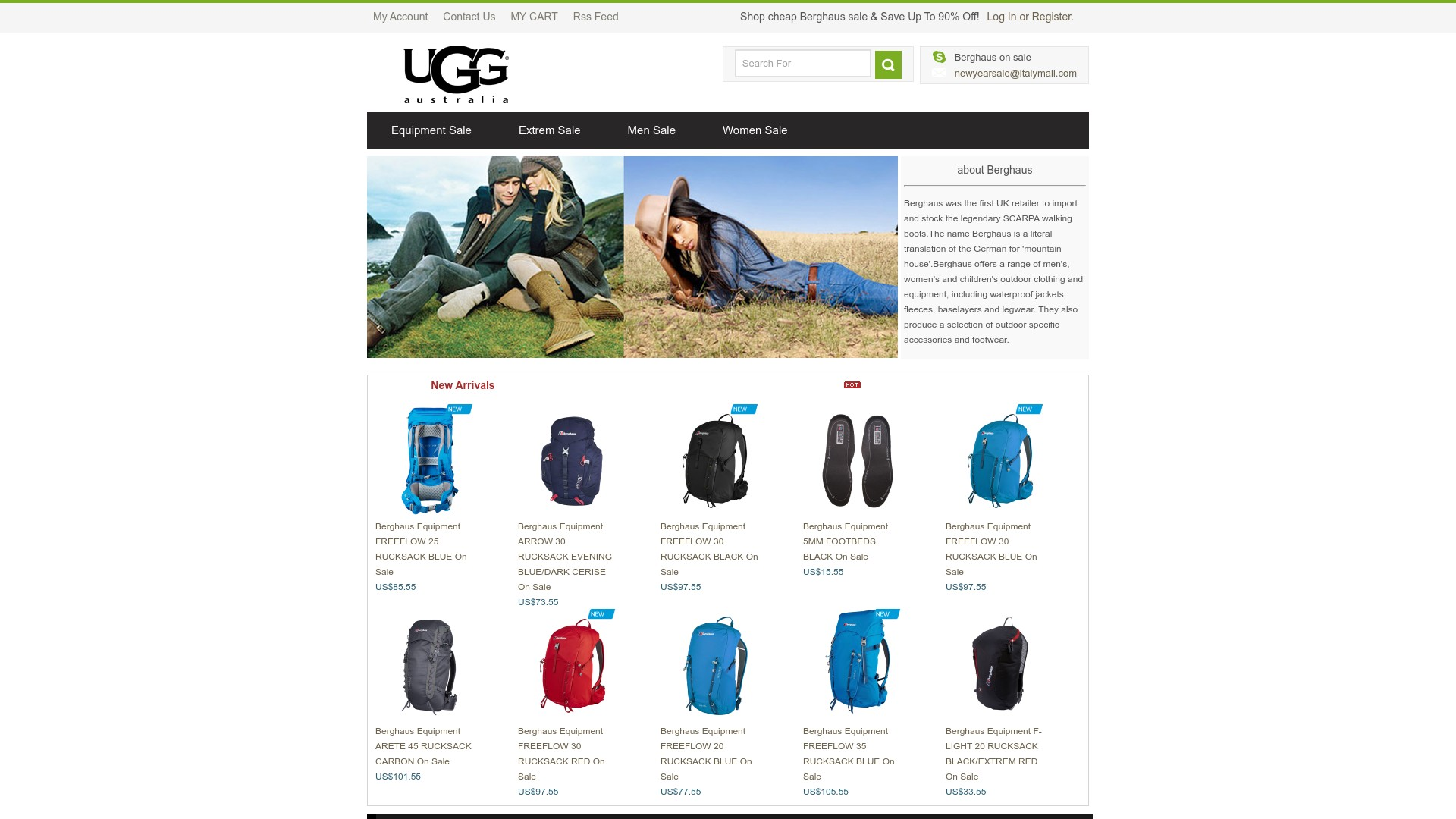 Is Berghaus Sale a Scam? Review of the Online Store