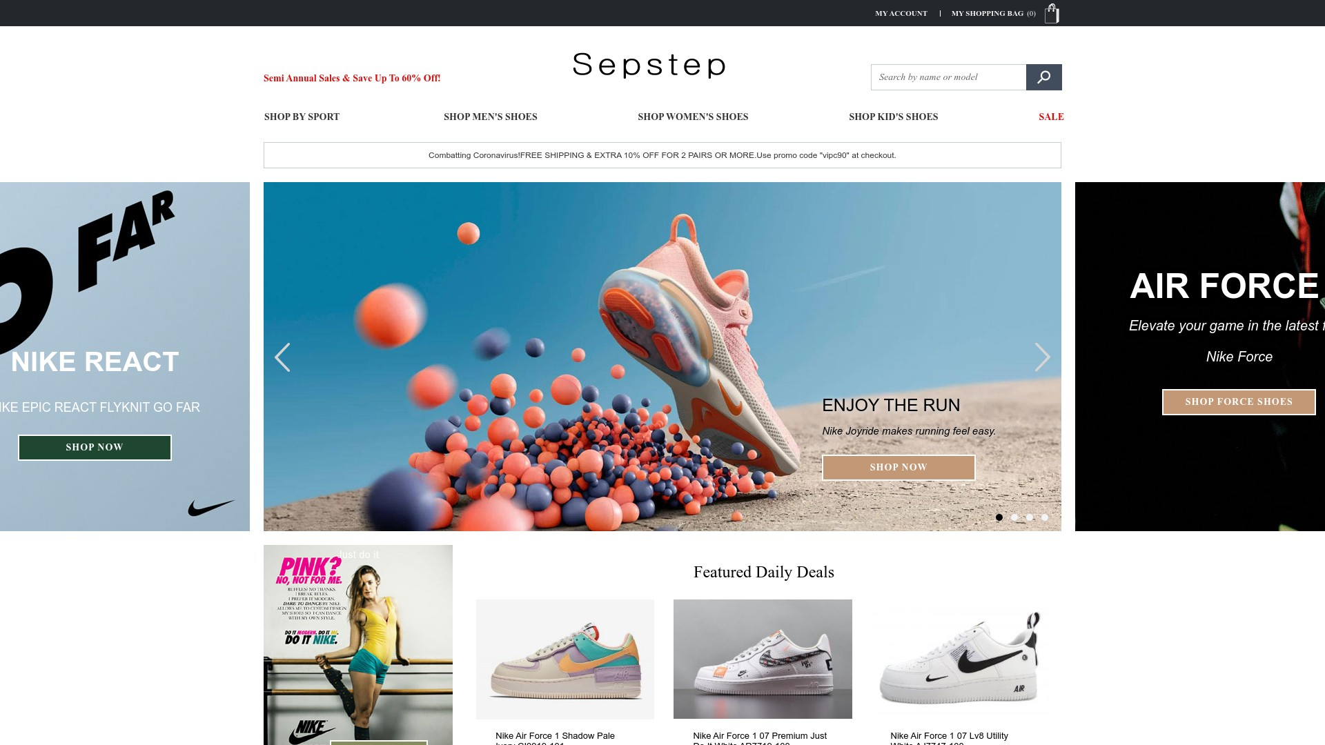 Is Sepstep a Scam? See the Review of the Online Store