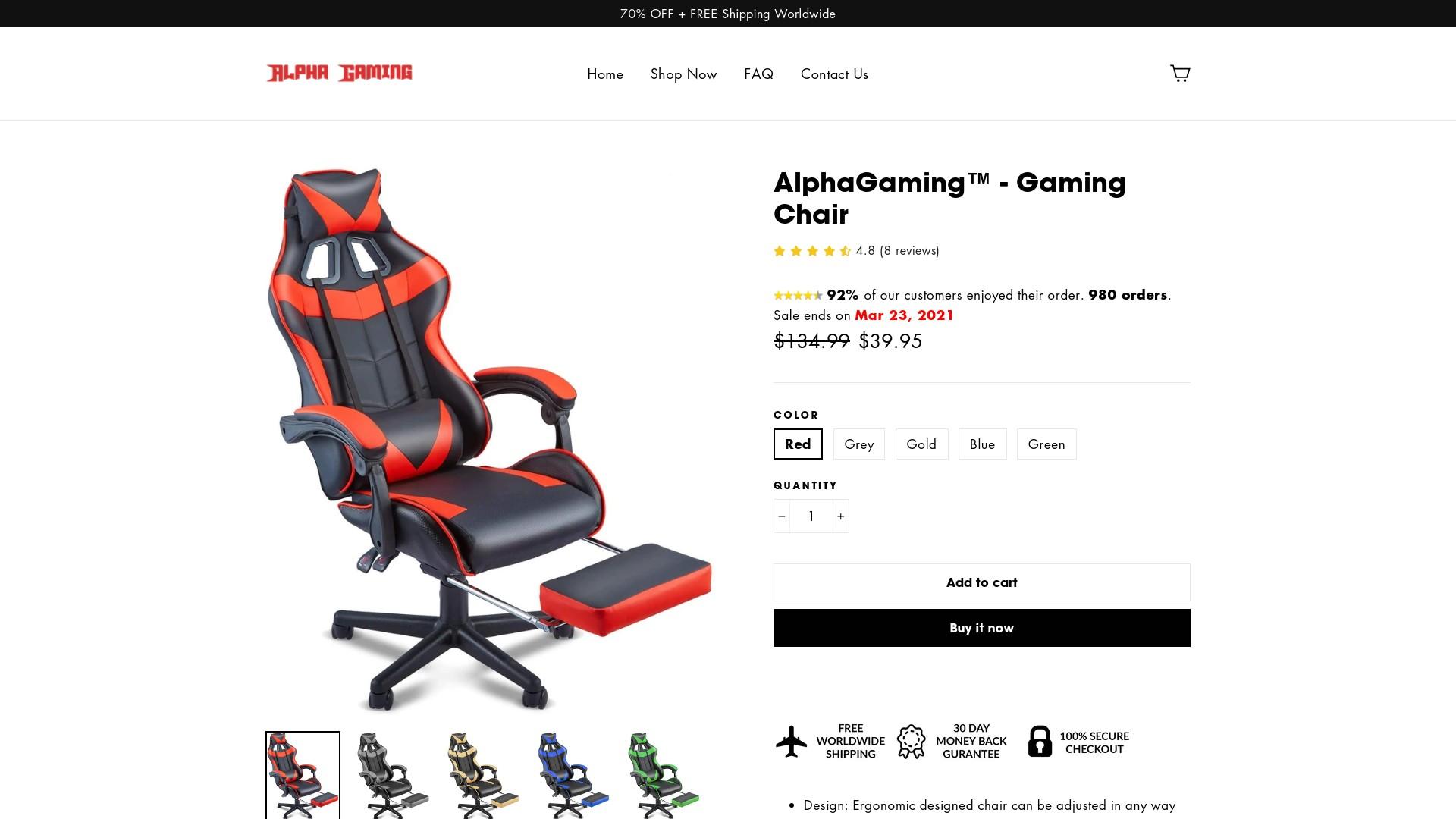 Alphagamingtm Reviews – alphagamingtm.com Online Store Is Scam or Legit?