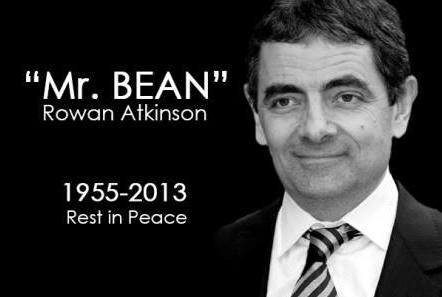 The Mr. Bean (Rowan Atkinson) Facebook Death Hoax
