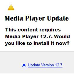 Fake and Malicious Media Player Update Advertisements